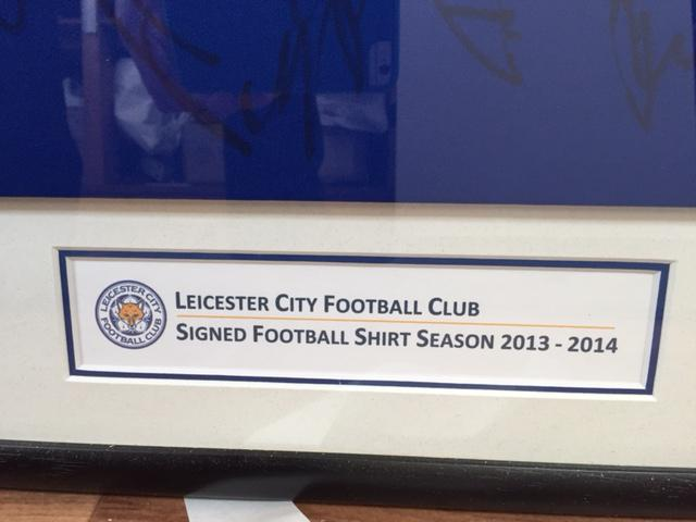 Leicester City Shirt Title