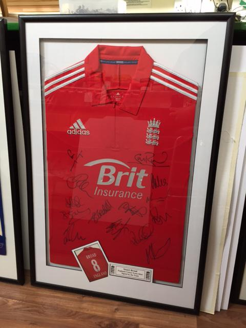 Stuart Broad England Shirt Cricket