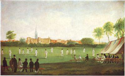 Cricket at Newark 1823