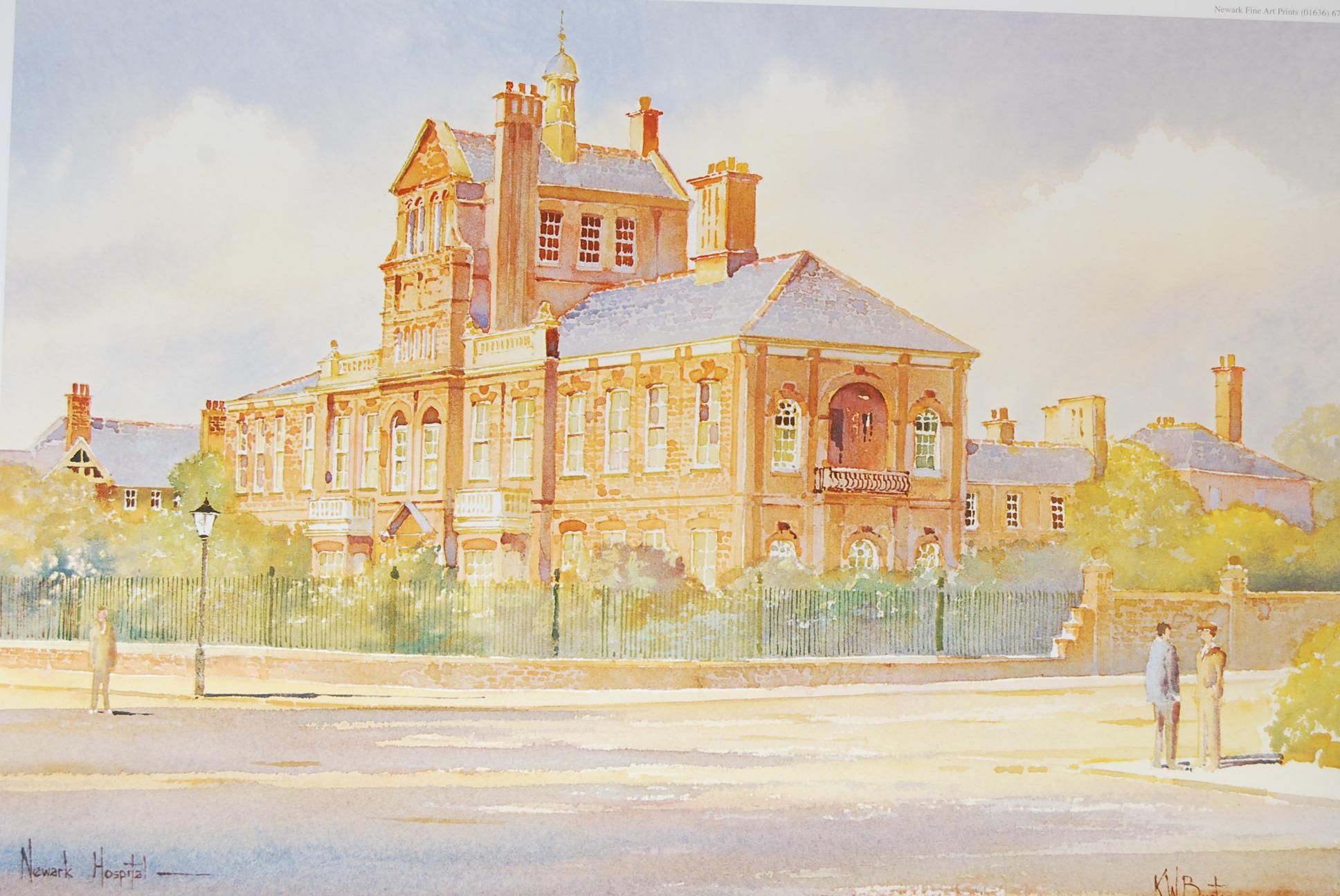 Old Newark Hospital by KW Burton