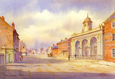The Corn Exchange Newark by KW Burton