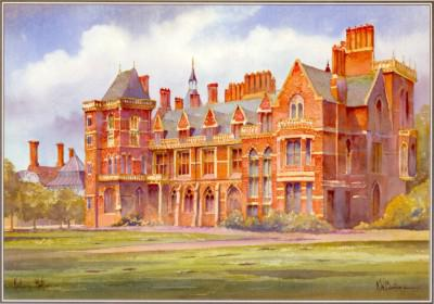 Kelham Hall Newark by KW Burton