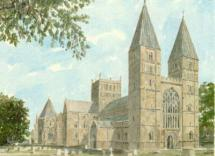 Southwell Minster by Philip Martin