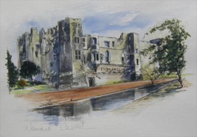 Newark Castle by Penny Veys