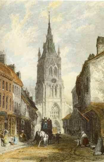 St. Mary's Church Newark 1836