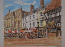 Newark Market Place by Philip Martin