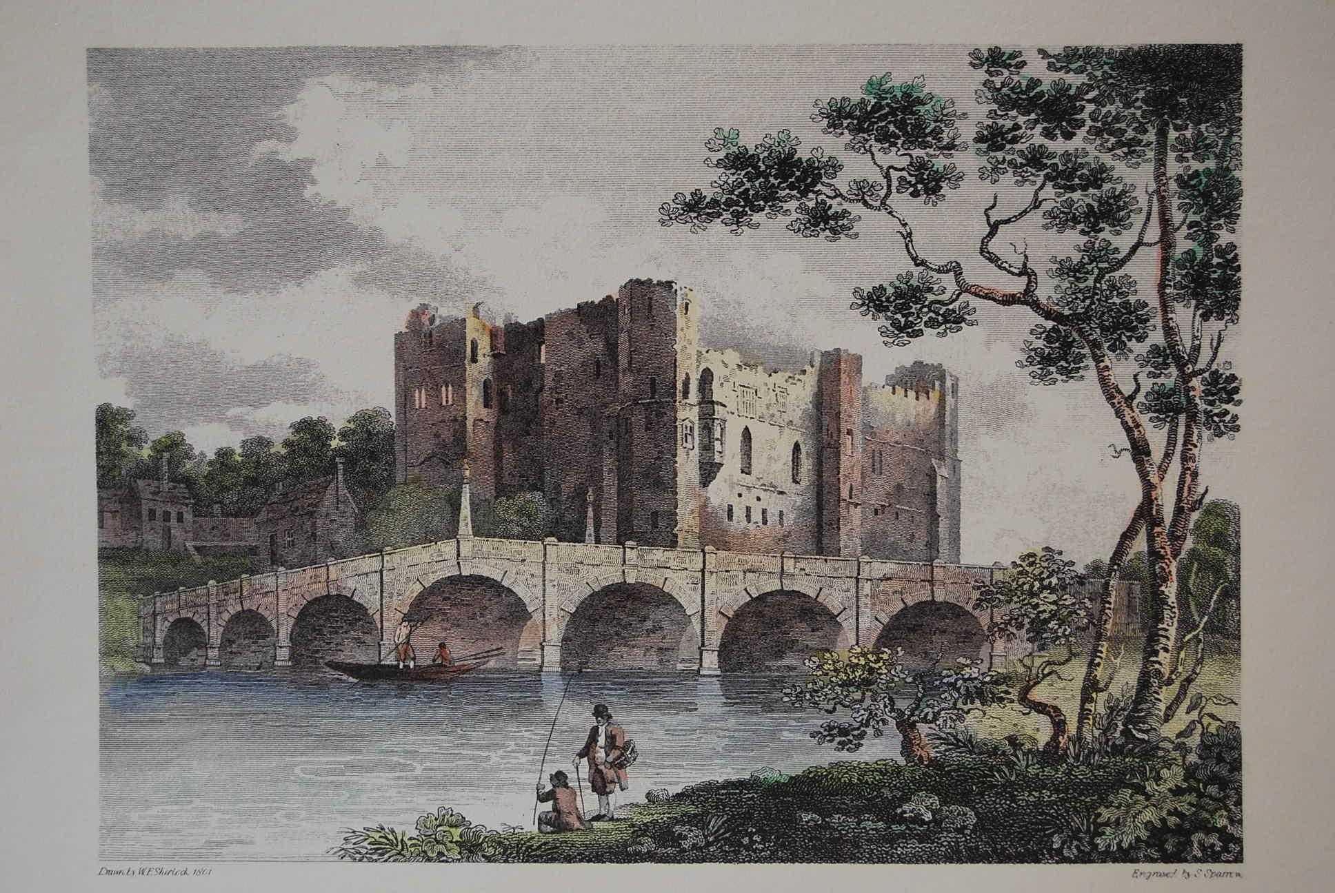 View of Newark Castle